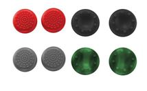 Image de Trust Two styles of silicon grip caps, Green/Grey/Red/Black (20814)