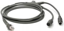 Image de Zebra  câble PS/2 2 m Gris (CBA-K61-S07PAR)