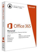 Image de Microsoft Office 365 Personal (QQ2-00504)