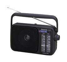 Image de Panasonic RF-2400D Radio portable Analogique Noir (RF-2400DEG-K)