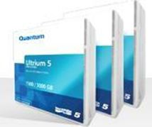 Image de Quantum LTO5 Ultrium WORM, Red/Gray, 1500/3000GB, 1280, 2 ... (MR-L5MQN-02)