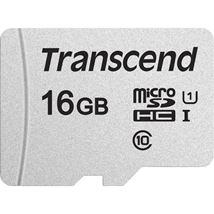 Image de Transcend microSDHC 300S 16GB mémoire flash (TS16GUSD300S-A)