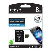 Image de PNY Performance memory card (SDU8GBPER50-EF)
