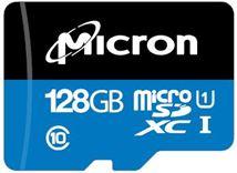 Image de Micron Industrial mémoire flash 128 Go MicroSDXC C ... (MTSD128AHC6MS-1WT)