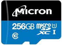Image de Micron Industrial mémoire flash 256 Go MicroSDXC C ... (MTSD256AHC6MS-1WT)