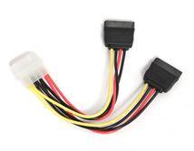 Image de Gembird  2*Serial ATA 15 cm câble ATA (CC-SATA-PSY)