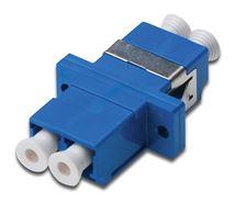 Image de Digitus LC / LC Coupler, Singlemode adaptateurs de fibres ... (DN-96007-1)