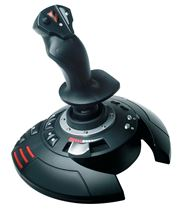 Image de Thrustmaster T.Flight Stick X Joystick Playstation 3 Noir (2960694)