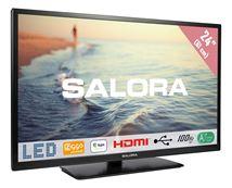 """Image de Salora 24"""" HD 220cd/m² Noir A+ 5W télévision de courtoisie (24HDB5005)"""