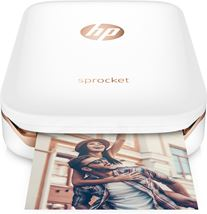 "Image de HP Sprocket imprimante photo ZINK (Zero ink) 313 x 400 DPI 2"" ... (Z3Z91A)"