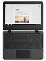 """Image de Lenovo N23 Noir Chromebook 29,5 cm (11.6"""") 1366 x 768 pixe ... (80YS005GBV)"""