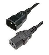 Image de HPE  câble électrique Noir 0,5 m Coupleur C14 Coupleur C1 ... (142257-B28)