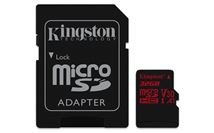 Image de Kingston Technology Canvas React mémoire flash 32 Go MicroS ... (SDCR/32GB)