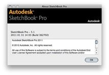 Image de Autodesk SketchBook Pro logiciel de conception ass ... (87100-00011S-S003)