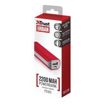 Image de Trust Primo 2200 banque d'alimentation électrique Rouge 2200 m ... (21223)