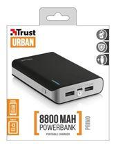 Image de Trust Primo 8800 banque d'alimentation électrique Noir 8800 mA ... (21227)