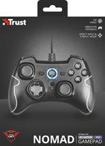 Image de Trust GXT 560 Nomad Manette de jeu PC,Playstation 3 Noir (22193)
