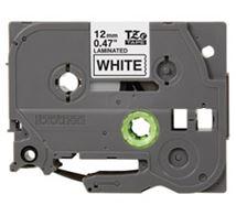 Image de Brother ruban d'étiquette Noir sur blanc TZe (TZE231)