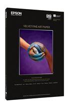 Image de Epson Pap d'Art Velvet 260g 20f. A3+ (0,329x0,483m) (C13S041637)