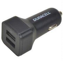 Image de Duracell chargeur de téléphones portables Noir Auto (DR5035A)