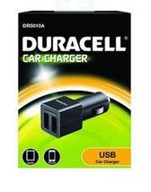 Image de Duracell chargeur de téléphones portables Noir Auto (DR5010A)