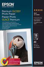 Image de Epson Premium Glossy Photo Paper - A4 - 15 Feuilles (C13S042155)