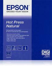 Image de Epson Pap Hot Press Natural 25f. A2 (0.420x0.594m) 330g (C13S042322)