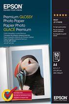 Image de Epson Premium, DIN A4, 255g/m² papier photos Blanc Gloss (C13S041624)