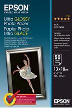 Image de Epson Ultra Glossy Photo Paper - 13x18cm - 50 Feuilles (C13S041944)