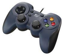 Image de Logitech F310 Manette de jeu PC Noir, Bleu, Multicolore (940-000138)