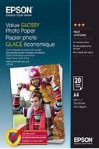 Image de Epson Value Glossy Photo Paper - A4 - 20 Feuilles (C13S400035)