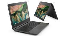 "Image de Lenovo 300e Noir Chromebook 29,5 cm (11.6"") 1366 x 768 pix ... (81H0000LBV)"