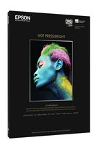 Image de Epson Pap Hot Press Bright 25f. A3+ (0.329x0.483m) 330g (C13S042330)