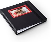Image de HP SPROCKET RED & BLACK ALBUM album photo et protège-page (2HS30A)