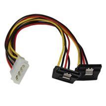 Image de StarTech.com Câble répartiteur d'alimentation en Y LP4 v ... (PYO2LP4LSATR)