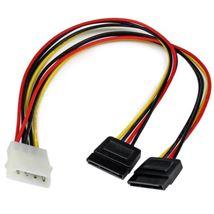 Image de StarTech.com Câble d'Alimentation Adaptateur en Y Molex v ... (PYO2LP4SATA)