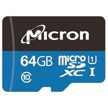 Image de Micron Industrial mémoire flash 64 Go MicroSDXC Cl ... (MTSD064AHC6MS-1WT)