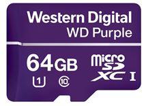 Image de Western Digital Purple mémoire flash 64 Go MicroSDXC Clas ... (WDD064G1P0A)