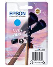 Image de Epson Singlepack Cyan 502 Ink (C13T02V24010)