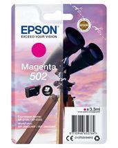 Image de Epson Singlepack Magenta 502 Ink (C13T02V34010)