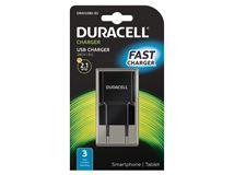 Image de Duracell chargeur de téléphones portables Intérieur Noir (DRACUSB3-EU)