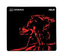 Image de ASUS Cerberus Mat Plus Noir, Rouge Tapis de souris de ... (90YH01C2-BDUA00)
