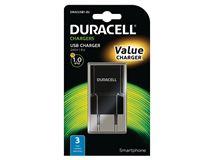 Image de Duracell chargeur de téléphones portables Intérieur Noir (DRACUSB1-EU)