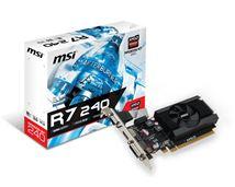 Image de MSI carte graphique Radeon R7 240 2 Go GDDR3 (V809-2847R)