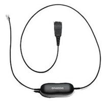 Image de Jabra GN1200 câble de téléphone 0,8 m Noir (88001-99)