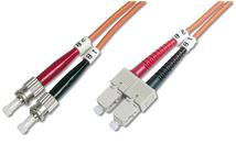 Image de Digitus Fiber Optic Multimode Patch Cord, 2x ST (DK-2512-02)