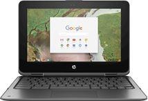 "Image de HP Chromebook x360 11 G1 Argent 29,5 cm (11.6"") 1366 x 768 pi ... (1TT14EA)"
