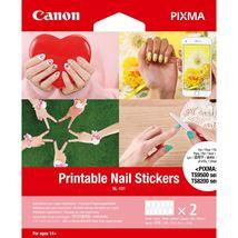 Image de Canon Sticker pour ongles Blanc 24 pièce(s) (3203C002)