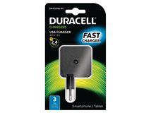 Image de Duracell chargeur de téléphones portables Intérieur Noir (DRACUSB2-EU)