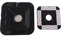 Image de Maclocks , RISE 15.24 cm (6'') ADHESIVE BASE RISE 15.24 cm (6 ... (TCDP6AB)